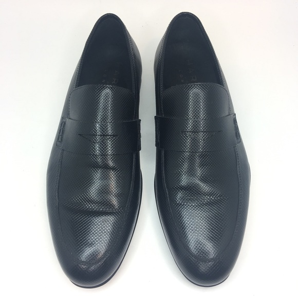 952ed458ea112 Harrys of London Other - Harry's of London Black Leather Basel Loafers 40 8